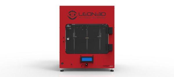 LION PRO 3D roja domos3d