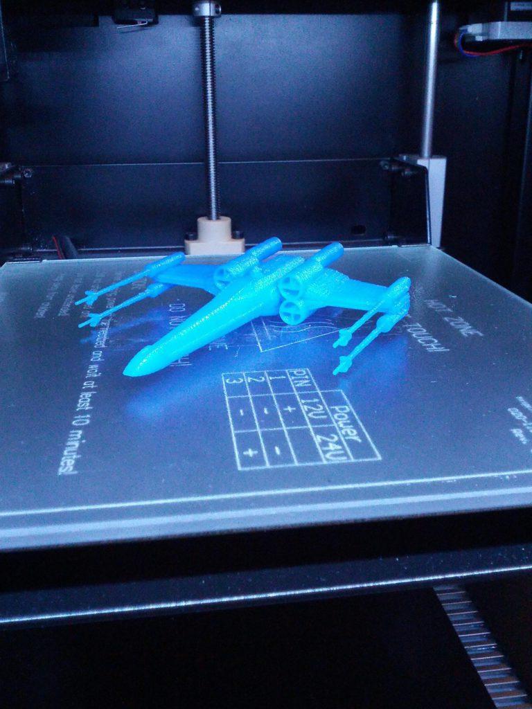 Impresión 3D X Wing Domos 3D