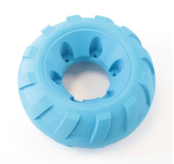 Flexiprint rueda azul domos3d