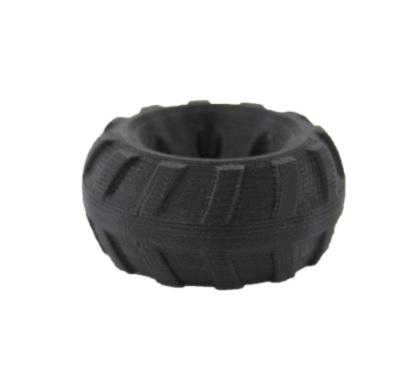 Flexiprint rueda negra domos3d